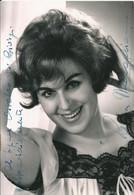 OPERA Italian Soprano LUISA MARAGLIANO - Autograph Hand Signed Dedicacee Photo PC 15x10 1963 - Fotos Dedicadas