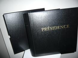 ALBUM PRESIDENCE   + ETUI + FEUILLES PRESIDENCE  FRANCE 1994/98 - Reliures Et Feuilles