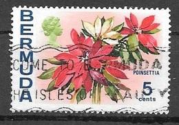1970 5 Cents Queen Elizabeth, Used - Bermuda