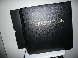 ALBUM PRESIDENCE   + ETUI + FEUILLES PRESIDENCE  FRANCE 1999/2002 - Albums & Binders