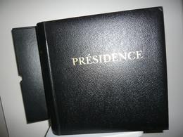 ALBUM PRESIDENCE   + ETUI + FEUILLES PRESIDENCE  FRANCE 2003/05 - Albums & Binders