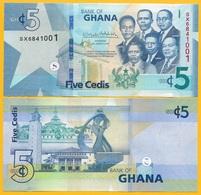 Ghana 5 Cedis P-new 2019 UNC Banknote - Ghana