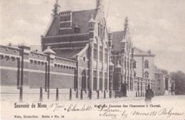Souvenir De Mons Nouvelle Caserne Des Chasseurs à Cheval Circulée En 1902 Nels Série 6 N° 56 - Mons