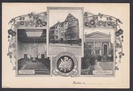 AK - BERLIN, Europäischer Baptisten Congress / Baptist Congress In 1908 - # 4 - Germany