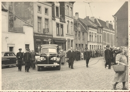 Gent ? - Begrafenisstoet - Café Meiresonne - Originele Foto - Gent