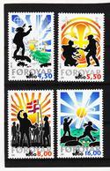 TNT167 DÄNEMARK - FÄRÖER 2000  Michl 368/71 ** Postfrisch SIEHE ABBILDUNG - Färöer Inseln