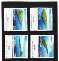 TNT168 DÄNEMARK - FÄRÖER 2000  Michl 381/84 ** Postfrisch SIEHE ABBILDUNG - Färöer Inseln