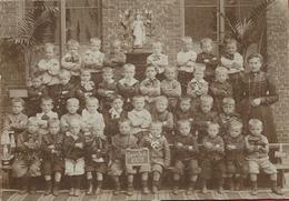 Gent - Schoolfoto 1902 - Originele Foto Op Karton - Gent