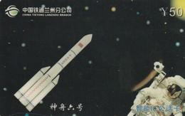 TARJETA TELEFONICA DE CHINA. ASTRONAUTA. (590) - Espacio
