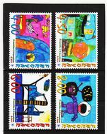 TNT169 DÄNEMARK - FÄRÖER 2000  Michl 375/78 ** Postfrisch SIEHE ABBILDUNG - Färöer Inseln