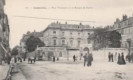 Grenoble - Place Vaucanson Et La Banque De France - Grenoble