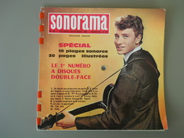 JOHNNY HALLYDAY - SONORAMA N° 34 - ANNEE 1961 - Special Formats