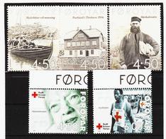 TNT172 DÄNEMARK - FÄRÖER 2001  Michl 391/95 ** Postfrisch SIEHE ABBILDUNG - Färöer Inseln