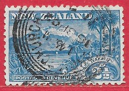 Nouvelle-Zélande N°83 2,5p Bleu (CHRISTCHURCH 16 SP 02) 1899-1907 O - 1855-1907 Crown Colony