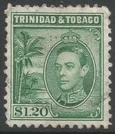 Trinidad & Tobago. 1938-44 KGVI. $1.20 Used. SG 255 - Trinidad & Tobago (...-1961)