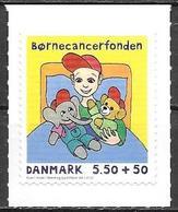Denmark Danmark Dänemark 2010 Children Cancer Fund Michel No. 1560A Mint MNH Neuf Postfrisch ** Self Adhesive - Unused Stamps