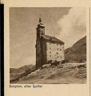 Carte Illustré Neuve N° 167B - 024  Simplon, Alter Spittel (Zumstein 2009) - Entiers Postaux