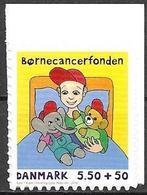 Denmark Danmark Dänemark 2010 Children Cancer Fund Michel No. 1560C Mint MNH Neuf Postfrisch ** Self Adhesive - Unused Stamps