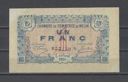 Chambre De Commerce De MELUN  Billet De 1.00F - Chambre De Commerce