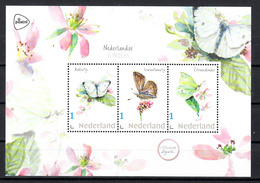 Nederland 2019 Persoonlijke Zegel: Nederlandse Vlinders: Butterfly, Koolwitje, Icarusblauwtje, Citroenvlinder - Periode 2013-... (Willem-Alexander)