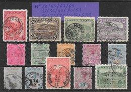 Tasmanie Classiques Lot De 14 Tp 1878-1912 O - 1853-1912 Tasmania