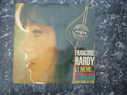 Françoise Hardy: Et Même...-Tout Me Ramène à Toi-C'est Le Passé/ 45t Vogue 8222 - Vinyl Records