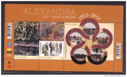 1.- SOUTH AFRICA 2012. MINIATURE SHEET. ALEXANDRA 100 - South Africa (1961-...)