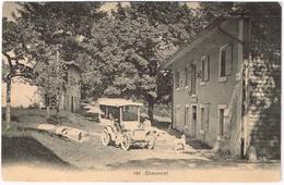 CHAUMONT NE 1905 Mit Automobil - NE Neuenburg