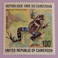 "CAMEROUN YT PA   281 NEUF(**)"" GRENOUILLE CAMEROUNAISE"" ""ANNÉE 1978 - Cameroon (1960-...)"