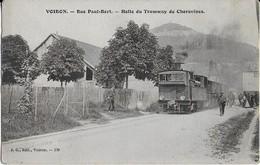 VOIRON (38) :Rue   Paul Bert _Halte Du Tramway  De Charavines - Voiron