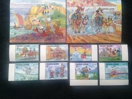 Sierra Leone Disney Opex 1987 Mint - Sierra Leone (1961-...)