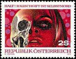 AUSTRIA 1973 - PREVENCION CONTRA LA DROGA - YVERT 1239** - Drugs