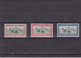 Egipto Nº 115 Al 117 Con Manchas En La Goma - Unused Stamps