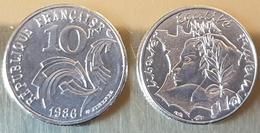 2 Pieces France 10 Fr Jumenez 1986 - Finland