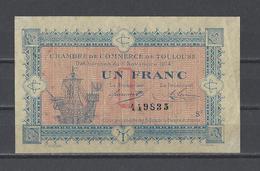 Chambre De Commerce De TOULOUSE  Billet De 1.00F - Chambre De Commerce