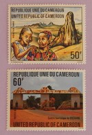 "CAMEROUN YT 660/661 NEUFS(**)"" TOURISME"" ""ANNÉE 1981 - Cameroon (1960-...)"
