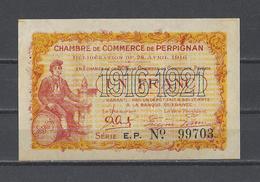 Chambre De Commerce De PERPIGNAN  Billet De 1.00F - Cámara De Comercio