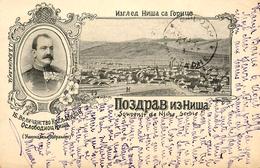 Gruss Aus Niche - 1899 !!! - Serbie - TP + Cachets + Oblitérations !! - Serbia
