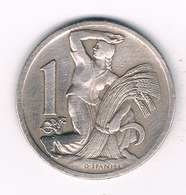 1 KORUN 1930  TSJECHOSLOWAKIJE /4340/ - Czechoslovakia