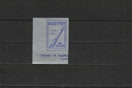 USA 1961 Space, Rocket Mail  Vignette MNH - Space
