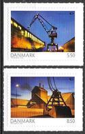 Denmark Danmark Dänemark 2010 Norden Michel No. 1573-74 Mint MNH Neuf Postfrisch ** Self Adhesive - Unused Stamps