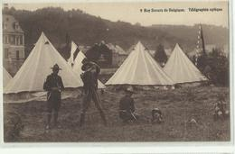 ** 9.  BOYS-SCOUTS   DE BELGIQUE     **-- Télégraphie Optique -- - Scoutisme