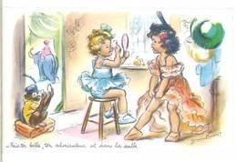 Germaine BOURET - Fais Toi Belle, Ton Admirateur Est Dans La Salle ..Cirque.. (540 ASO) - Bouret, Germaine