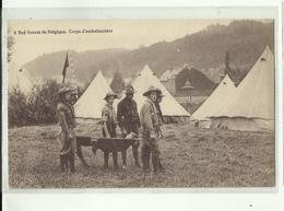 ** 8.  BOYS-SCOUTS   DE BELGIQUE     **-- Corps  D'ambulanciers -- - Scoutisme