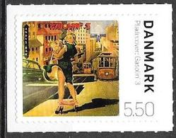 Denmark Danmark Dänemark 2010 Record Cover Gasolin Michel No. 1579 Mint MNH Neuf Postfrisch ** Self Adhesive - Unused Stamps