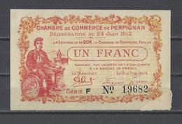 Chambre De Commerce De PERPIGNAN  Billet De 1.00F - Chamber Of Commerce