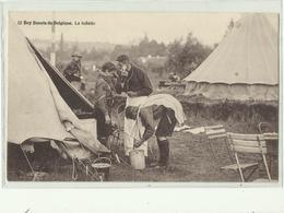 ** 12.  BOYS-SCOUTS   DE BELGIQUE     **-- La Toilette -- - Scoutisme