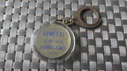 PORTE CLEF FORT LAMY ARMETAL BP 66  ( N'djamena Tchad ? ) - Autres Collections