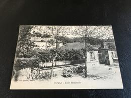 TOUCY Ecole Maternelle - 1936 Timbrée - Toucy