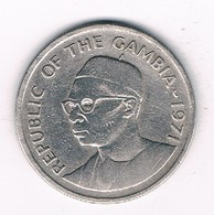 25 BUTUS 1971 GAMBIA/4347/ - Gambie